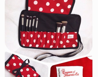 Minnie Mouse Brush Roll