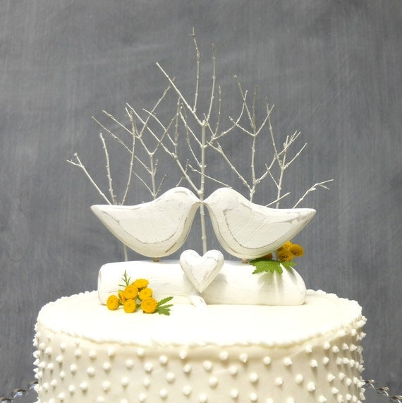 bird wedding cake topper birds wedding cake topper bird cake topper white 1723