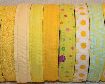 Yellow No Slip Headbands
