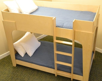 Extra Strong Twin Bunk Bed in XL!