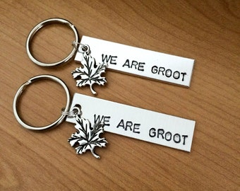 WE ARE GROOT - Guardians of the Galaxy keychain