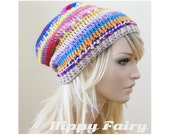 Bohemian hat,Gypsy slouch beanie, gypsy hat, gypsy beanie ,gypsy accessories, boho gypsy, womans hat ,slouch beanie