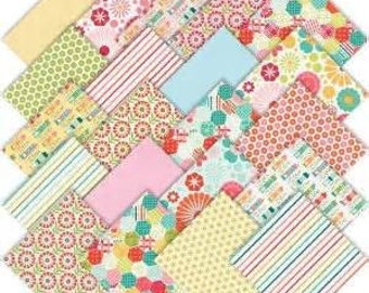SALE So Happy Together FREE SHIPPING Fat Quarter Bundle by Deena Rutter for Riley Blake