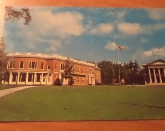 Vintage Original baxter hall williamstown mass Postcard Free Shipping