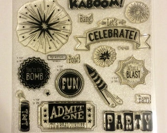 Kaboom - My Acrylix clear stamp set