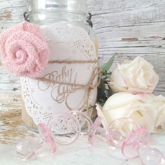 diy baby shower decorations for 5 jars diy baby shower centerpieces
