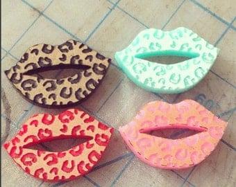 Leopard Lips 4 pcs per lot Mixed Colors