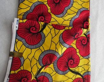 HOLLANDAIS VERITABLE WAX African Print Fabric 100% Cotton