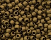 TOHO Seed Bead 11/0 ~ Matte-Color Dark Copper ~ 8g-24g (TR-11-702) B-28
