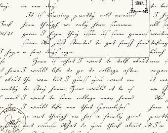 Written Letter fabric