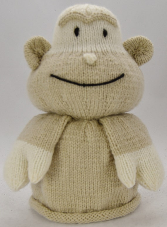 Toilet Roll Cover Knitting Pattern : Monkey Toilet Roll Cover Knitting Pattern