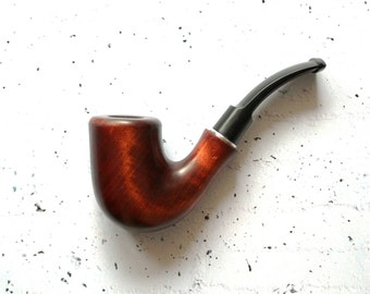 "Smoking Pipe ""Boatswain"" , Tobacco Pipes, Smoking bowl, wood smoking bowl, Tobacco bowl. Wooden Pipes, Hand Carved Tobacco Wood Pipes"