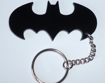 Retro Batman Keyring - Engraving Option
