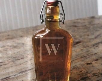 Groomsmen Flask Gifts, Personalized Glass Flask, Groomsmen gift, Personalized Flask, Engraved Flask, Hip Flask, Custom Flask