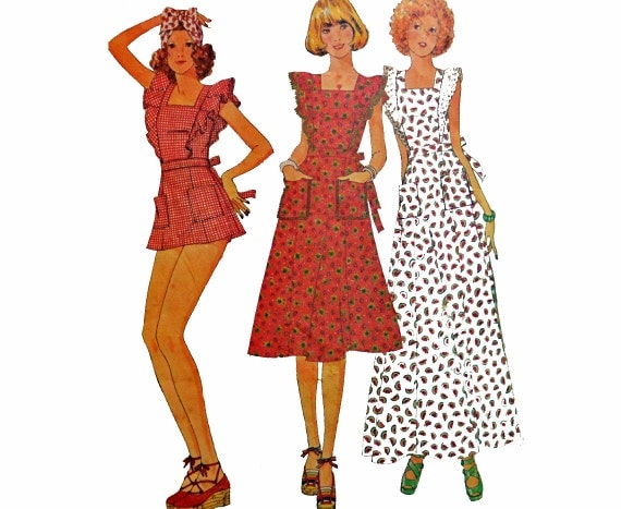 Boho Maxi Dress Pattern 70s Dress Pattern Boho Mini