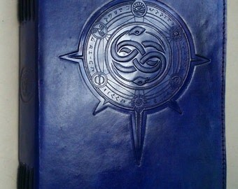 The Neverending Story Auryn Handmade Leather Journal or Sketchbook