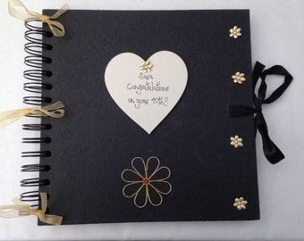 Personalised 18th/21st/30th/40th/Any Birthday photo album scrapbook handcrafted