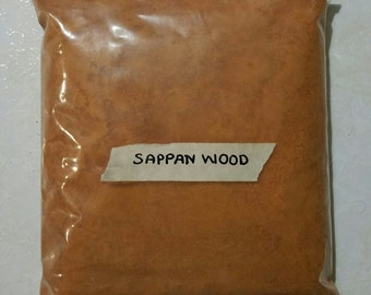 Brazil Wood ( Sappan Wood ) natural dye 100 gram
