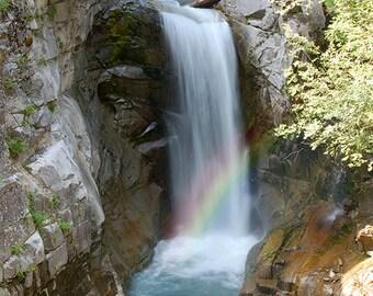 Mount Rainier National Park - Christine Falls (Art Prints available in multiple sizes)