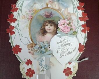 Antique Valentine Decoration
