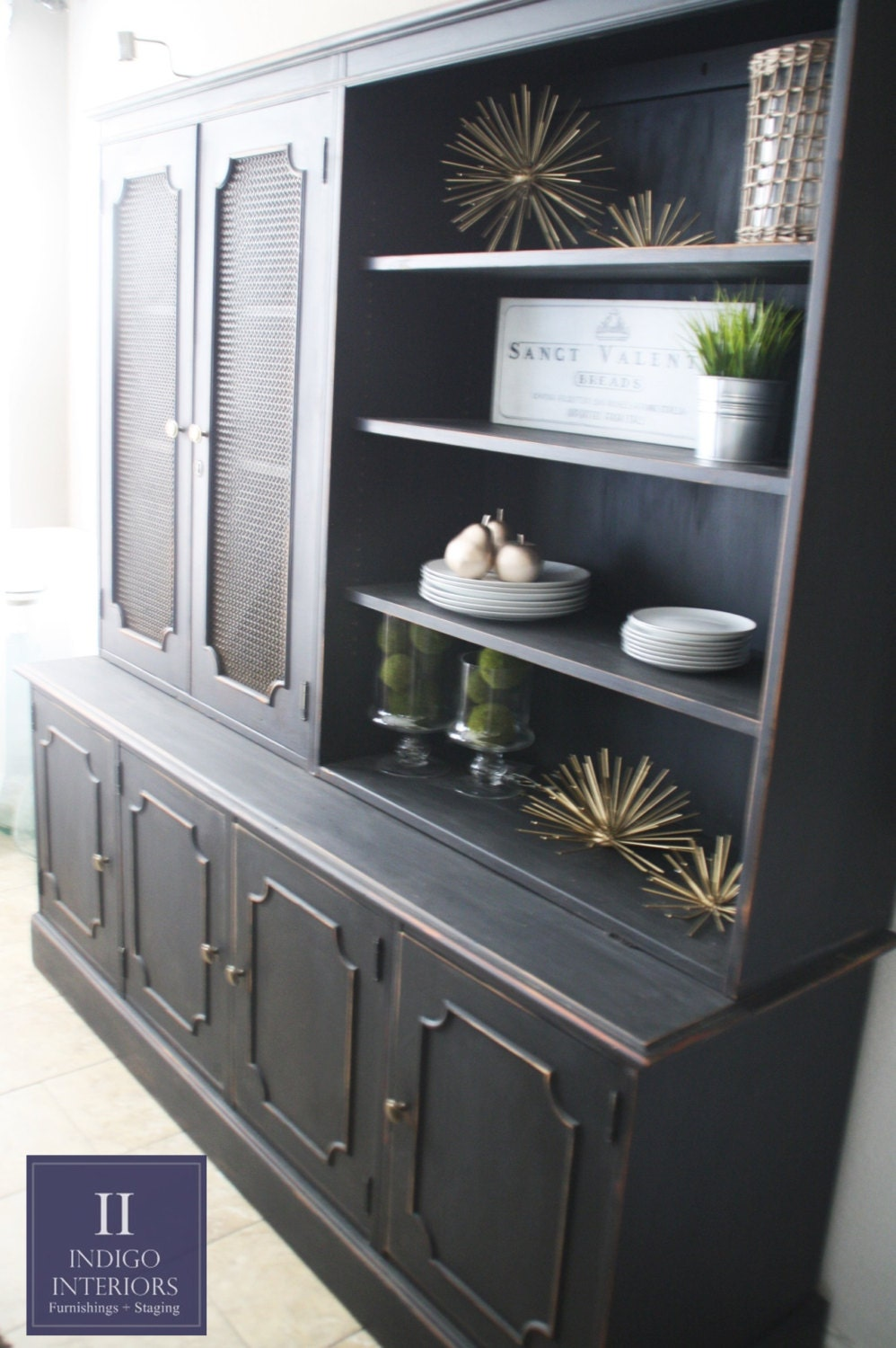 farmhouse style shabby chic black distressed dining room 30 delightful dining room hutches and china cabinets