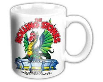 Rolling Stones - Dragon - Coffee Mug - FREE SHIPPING