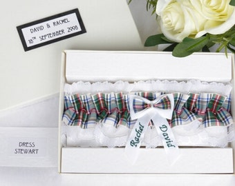 Personalised Wedding Gifts Glasgow : Personalised garter Etsy