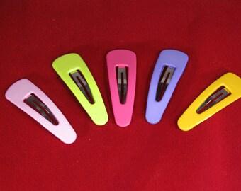 BULK! 20pc hair clips (mixed set) acrylic (JC72)