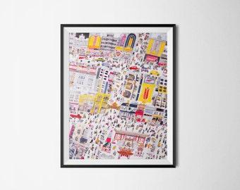 Art Print - Chinatown