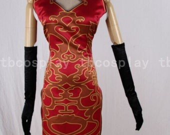 Vocaloid megurine luka cheongsam cosplay costume