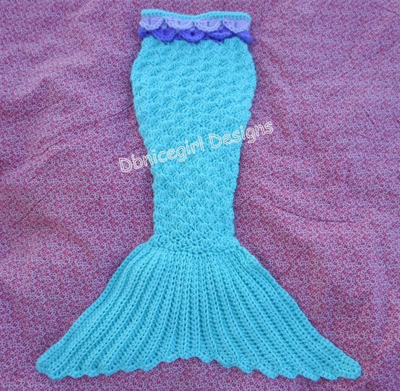 Free Crochet Pattern For A Mermaid Tail : Mermaid Tail Crochet Pattern Child sizes