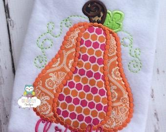 Pink, Orange and Leopard Print Dotted Pumpkin Shirt or Bodysuit, Girl Pumpkin Shirt, Pumpkin Shirt, Fall Pumpkin Shirt, Pumpkin Patch Shirt