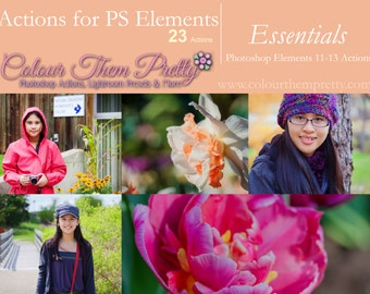 50% OFF! - Essentials (Actions for Photoshop Elements)