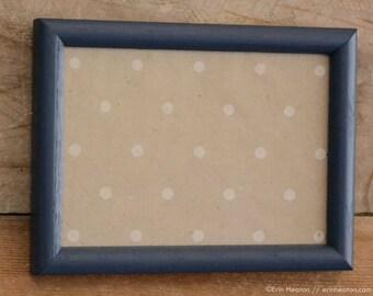 navy blue frame etsy. Black Bedroom Furniture Sets. Home Design Ideas