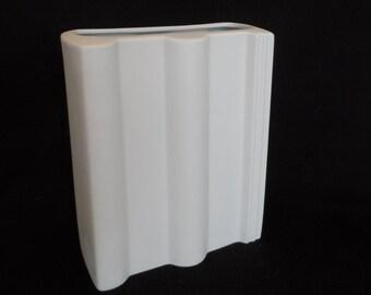 Rosenthal Studio Linie 'BRAAS' Bisque Vase (boxed).