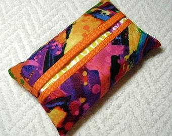 Fancy Pocket Tissue Holder - Tissue - Kleenex - Tissue Holder - Cotton Fabric - Graffiti - TC37