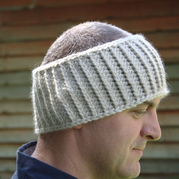 Mens Ear Warmer Pattern Crochet Unisex Head Warmer Pattern