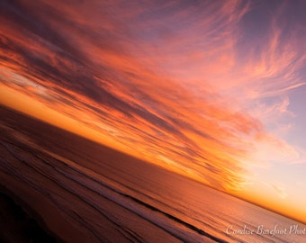 Beyond the Sky, Sunset, Ocean Photography, Storm Photography, Seascape Photography, Fine Art Photography, Wall Art