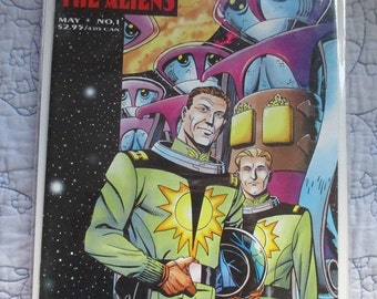 Captain Johner and The Aliens Comic Book