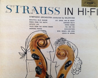 The Waltzes of Strauss in Hi Fi - vinyl record