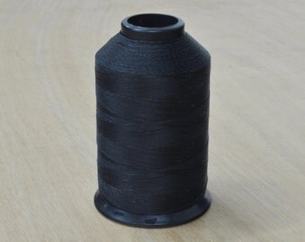 CHOOSE Color- One 69 Bonded Nylon Lubed BLACK or WHITE Sewing Machine Thread 4 Oz