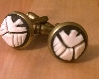 Shield Cameo Cufflinks
