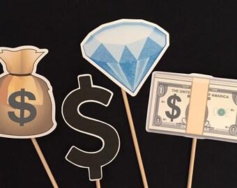Emoji Money Photo Booth Props