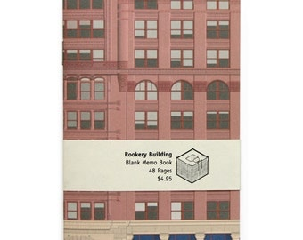 Rookery Building Blank Memo Book