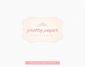 Premade Logo (Pretty Paper) - Logo Design, Graphic Design + Branding