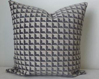 Designer geometric velvet  20x20 pillow cover, decorative pillow,throw pillow, accent pillow