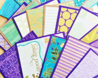 Cool Water Greeting Card Set - Set of 24 Greeting Cards with Envelopes