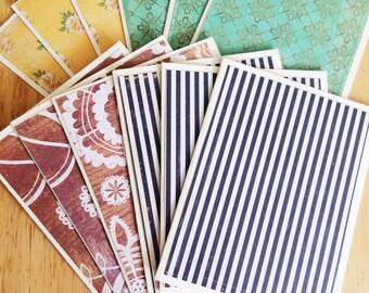 Quartet Greeting Card Set - Set of 12 Greeting Cards with Envelopes