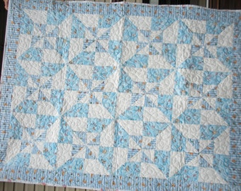 Peter Rabbit Baby Quilt