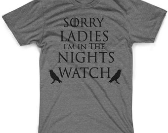 Kid's Nights Watch tshirt GOT shirt in youth sizes